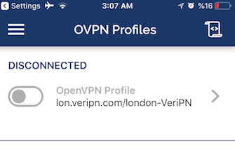 How to configure ios for openvpn step 10