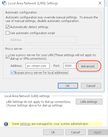 How to configure Windows 10 for proxy step 4