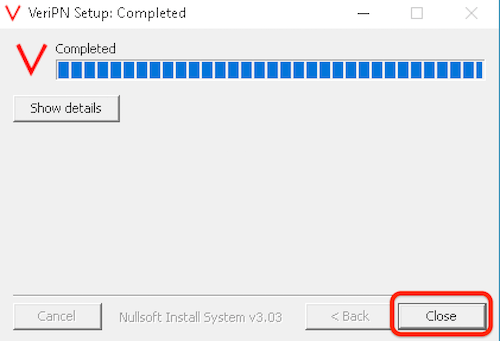 How to configure Windows 10 for OpenVPN step 12