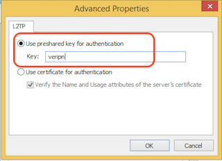 How to configure Windows 8 for l2tp step 10