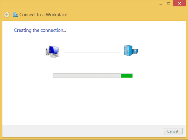 How to configure Windows 8 for l2tp step 6